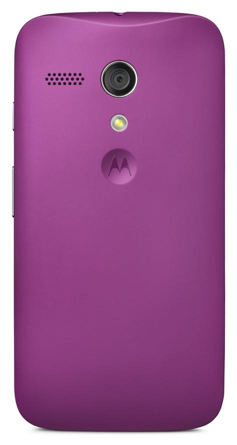 Motorola Moto G 4G violeta