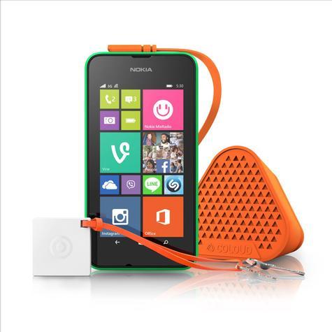 Nokia Lumia 530 en color verde
