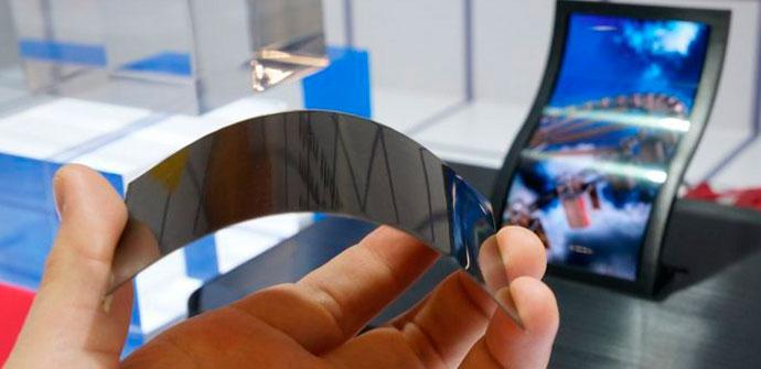 Pantalla flexible para smartphones
