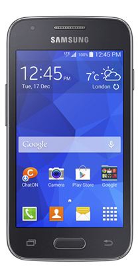 Samsung Galaxy Ace 4 vista frontal