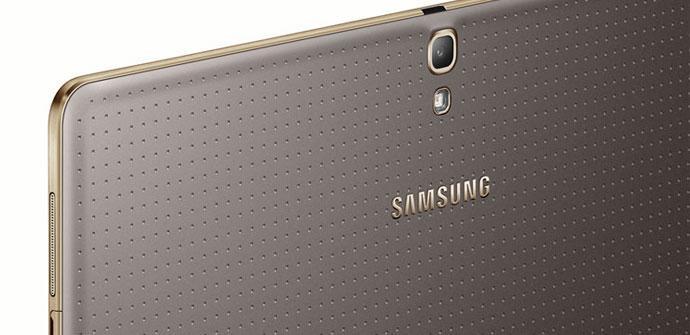 Carcasa trasera del Samsung Galaxy Tab S