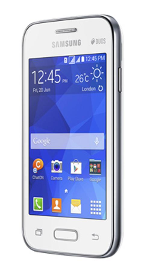 Samsung Galaxy Young 2 vista lateral