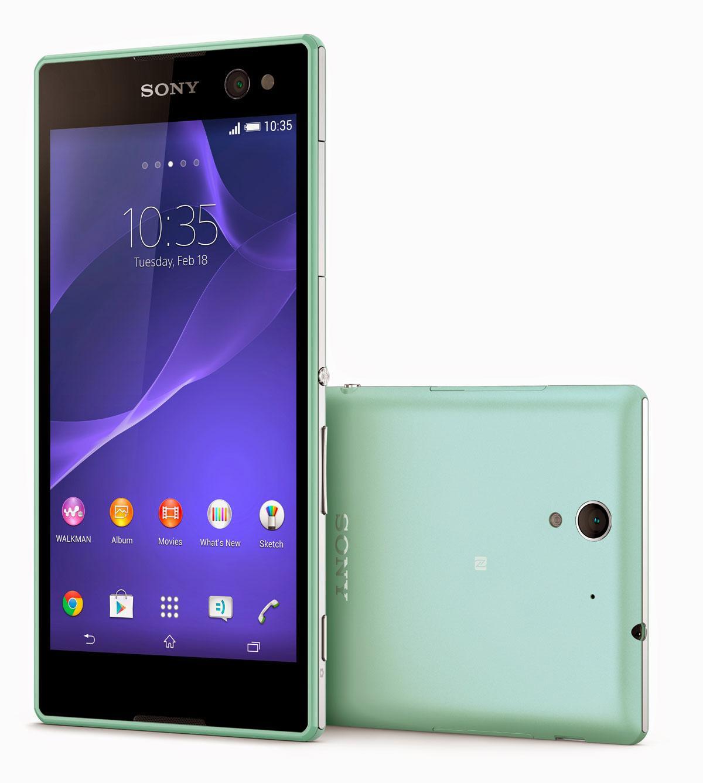Sony Xperia C3 en color verde