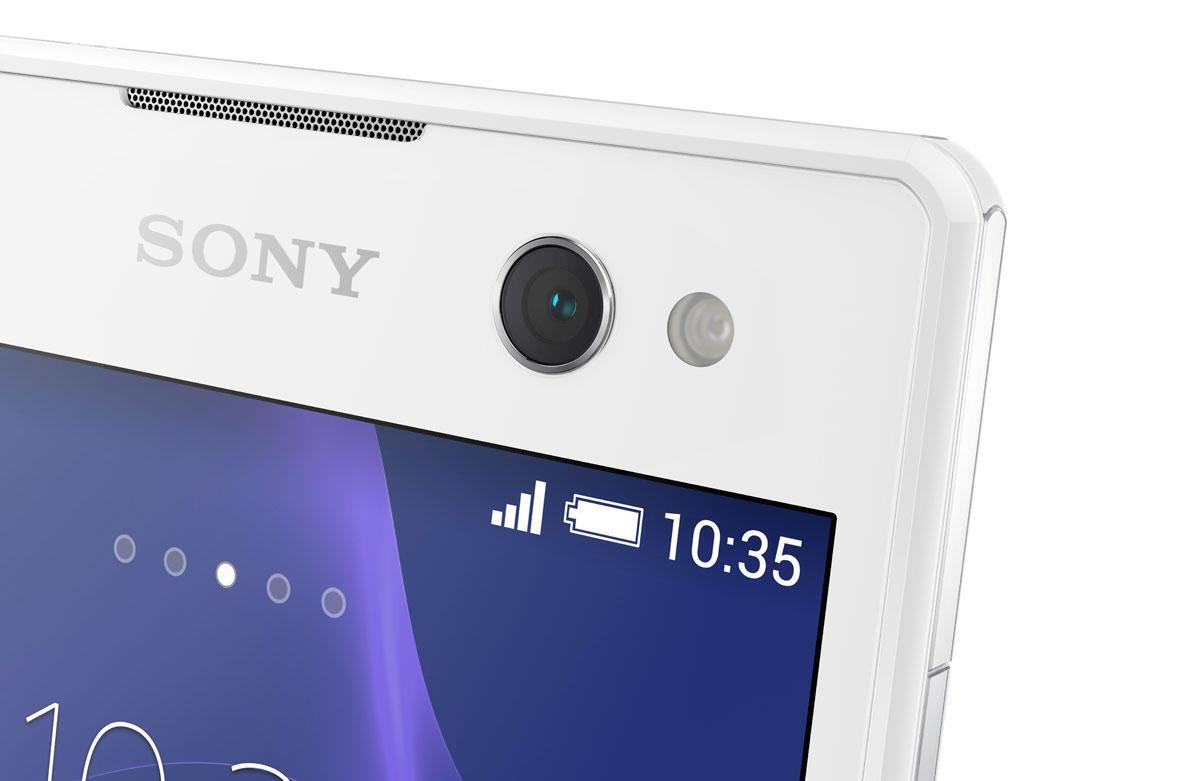Sony Xperia C3 detalle de la cámara
