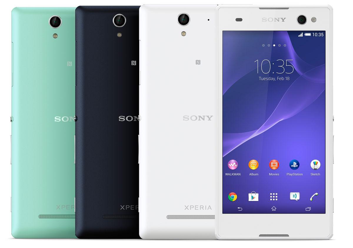 Sony Xperia C3 en varios colores