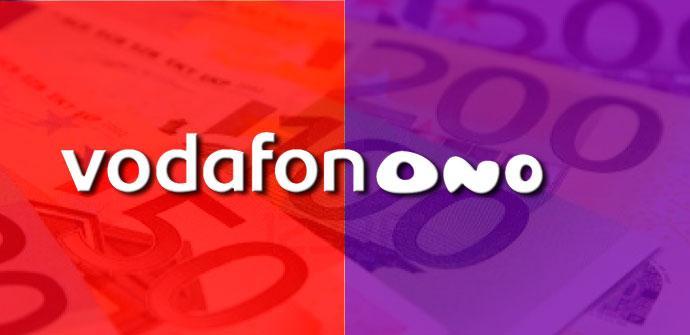Logo de Vodafone y ONO
