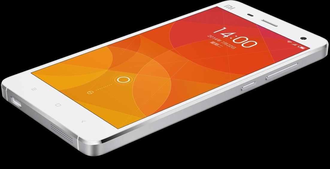 Xiaomi Mi4 en color blanco