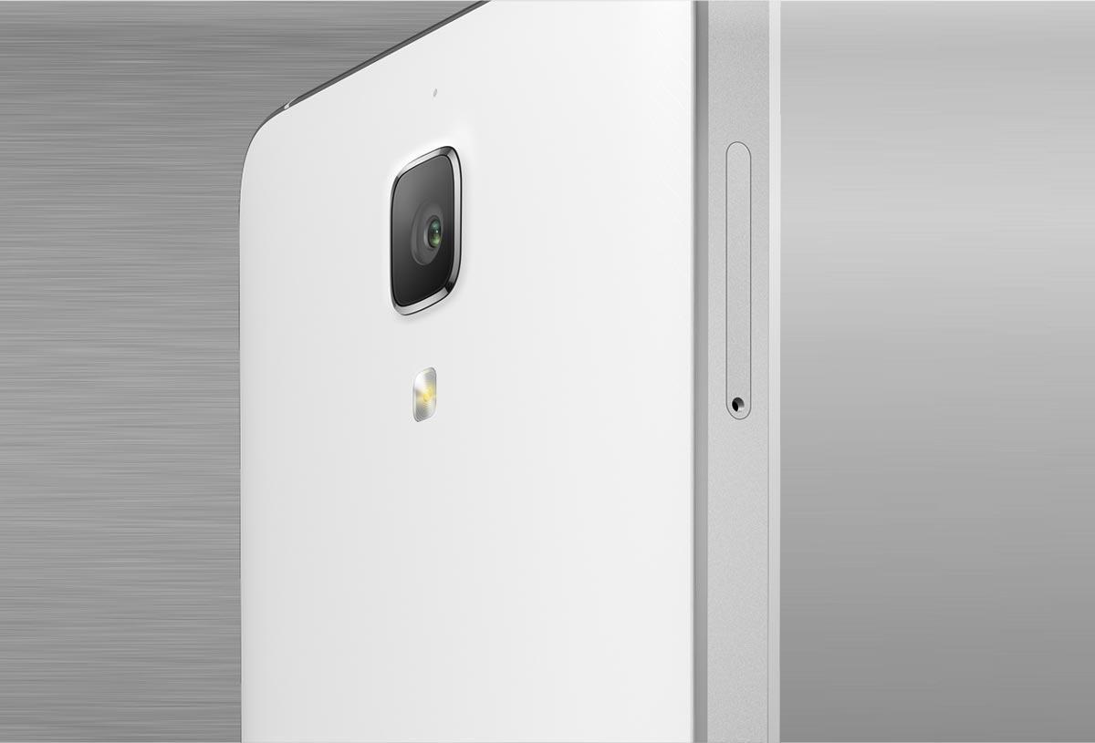 Xiaomi Mi4 detalle de la cámara