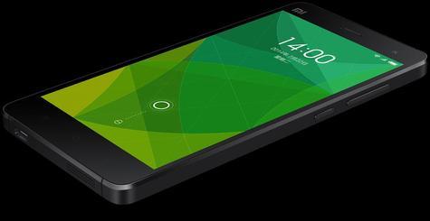 Xiaomi Mi4 en color negro
