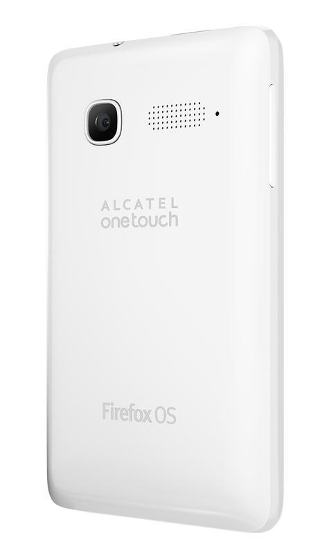 Alcatel One Touch Fire C en blanco vista de la cámara