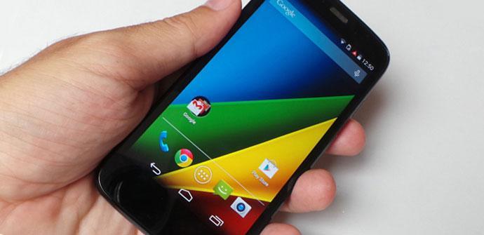 Apertura Motorola Moto G 4G
