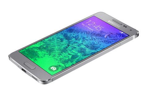 Samsung Galaxy Alpha en color gris