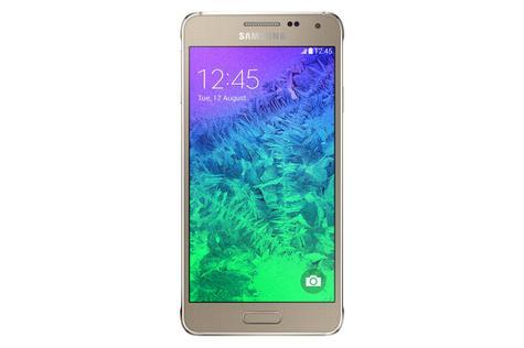 Samsung Galaxy Alpha en color oro