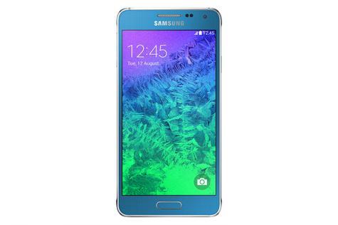 Samsung Galaxy Alpha en color azul