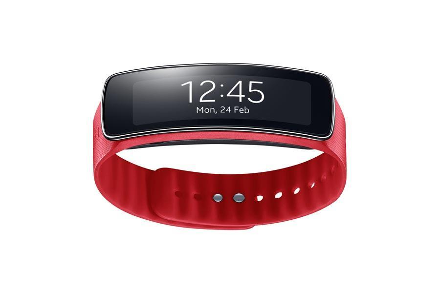 Samsung Gear Fit en color rojo