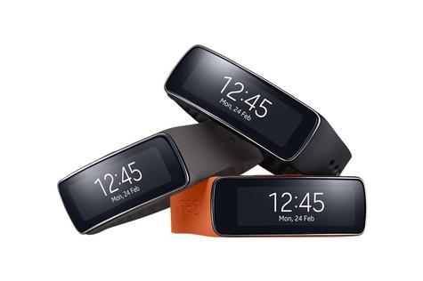 Samsung Gear Fit en varios colores
