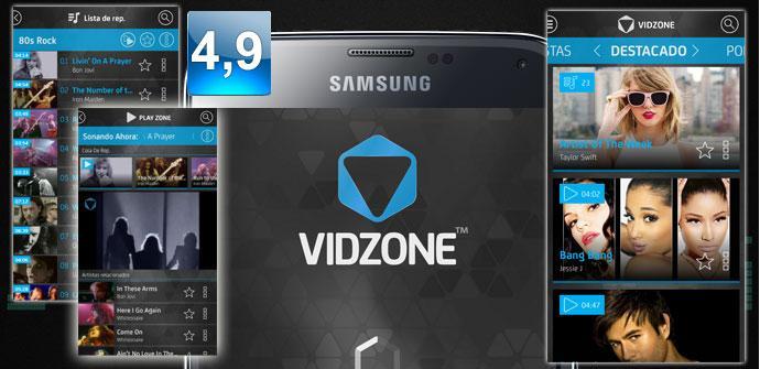 Apertura aplicación Vidzone