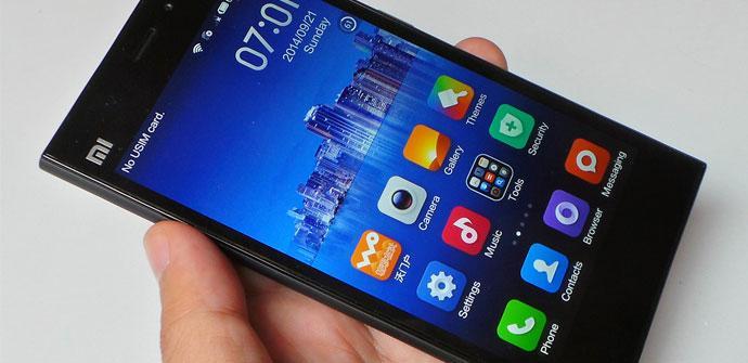 Apertura del Xiaomi Mi3