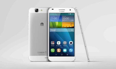 Huawei Ascend G7 en color blanco