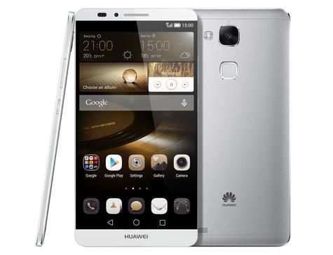 Huawei Ascend Mate 7 en color plata