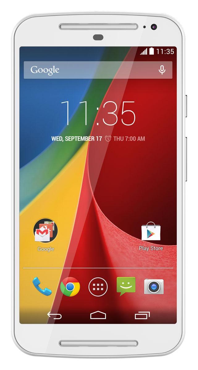 Motorola Moto G en color blanco