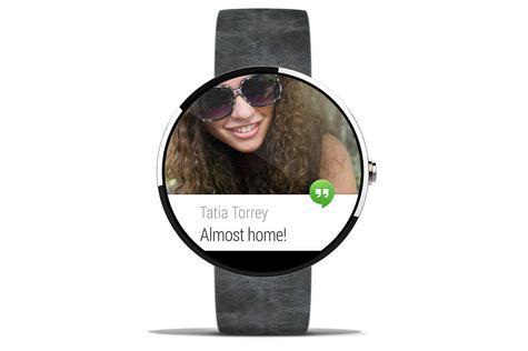 Motorola Moto G con pantalla de Android Wear