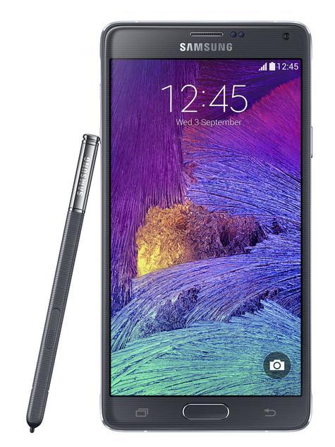 Samsung Galaxy Note 4 en color negro