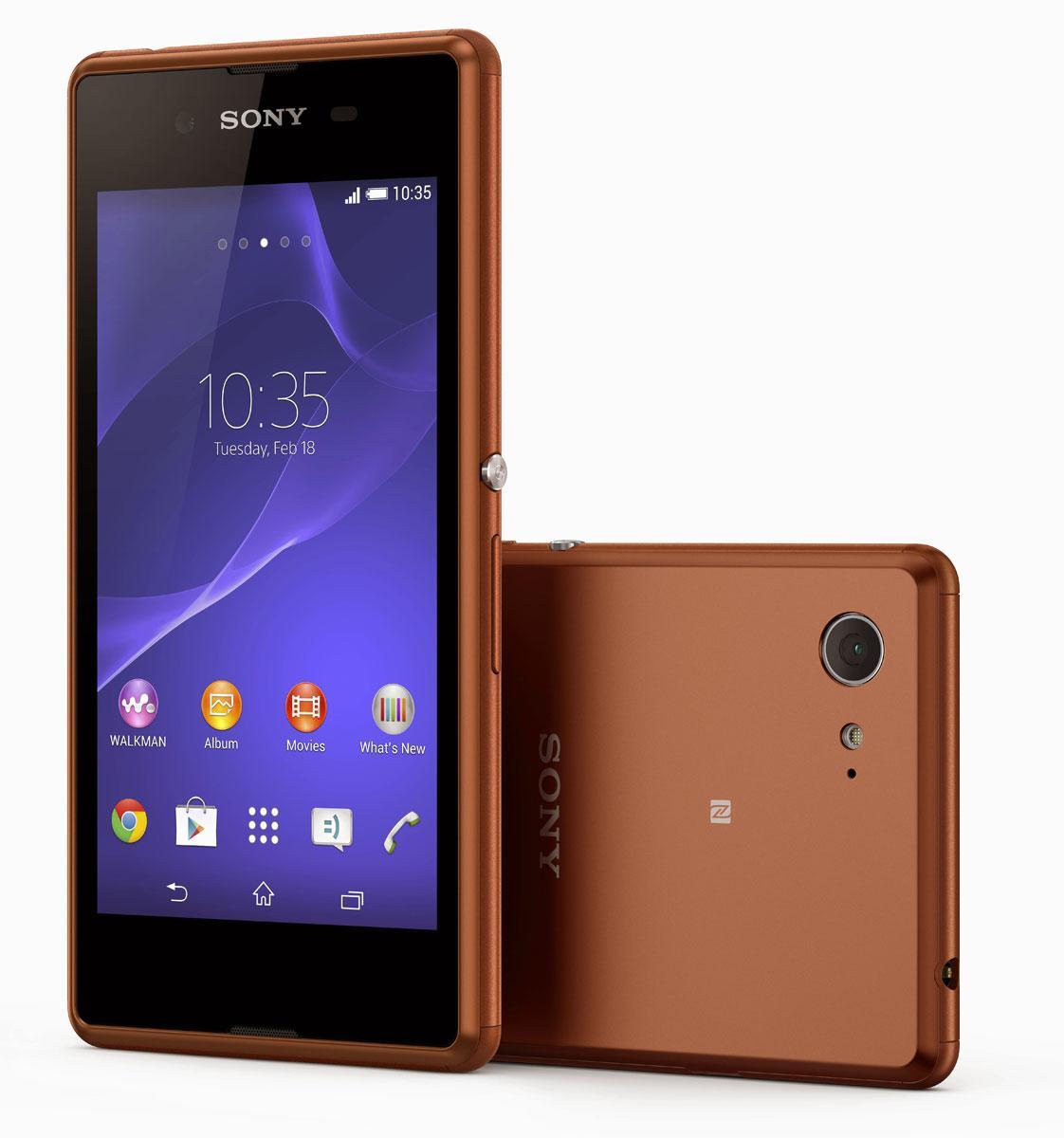 Sony Xperia E3 en color cobre