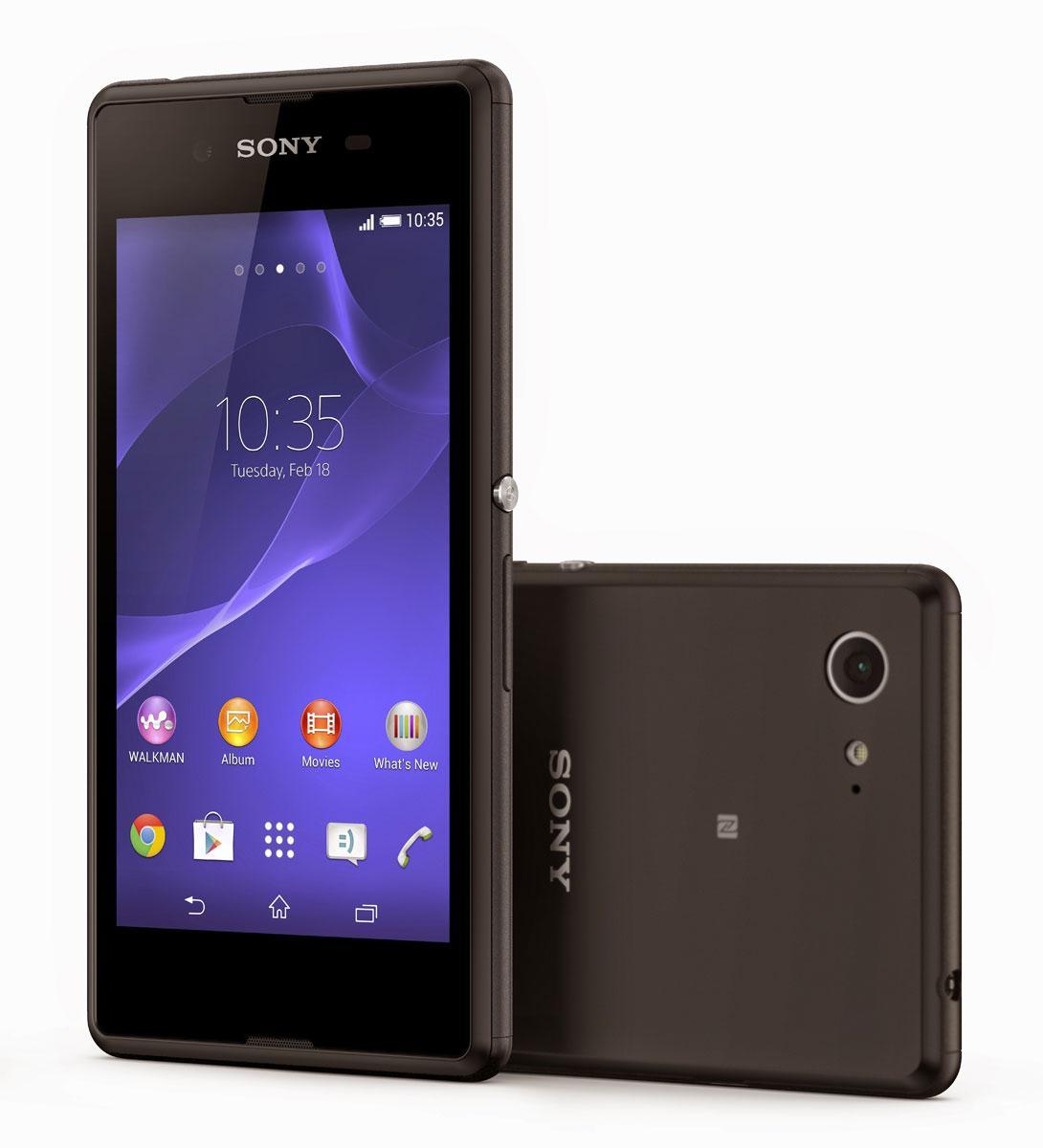 Sony Xperia E3 en color negro