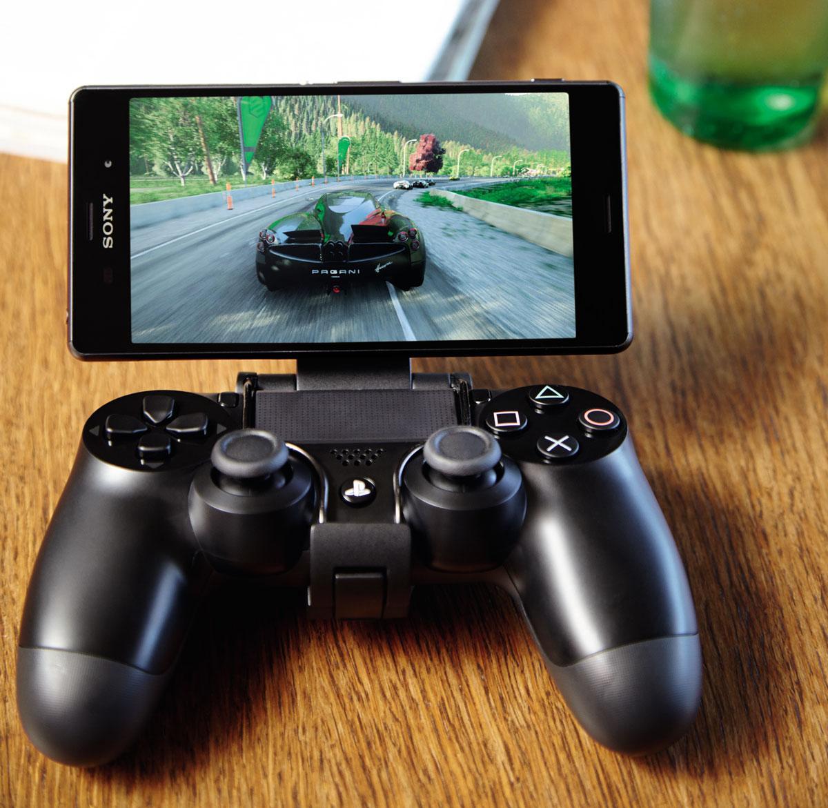 Sony Xperia Z3 con el mando de la PS4 integrado