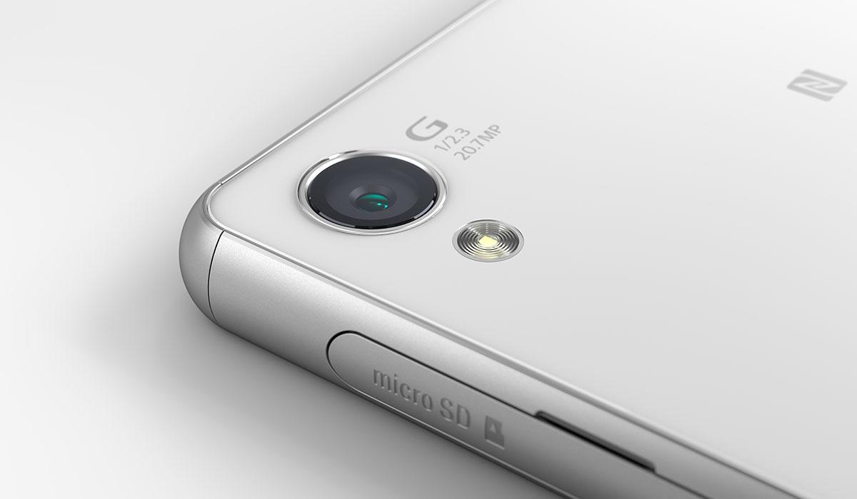 Sony Xperia Z3 detalles de la cámara de 20 MP