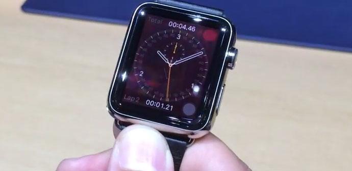 Apple Watch en metal