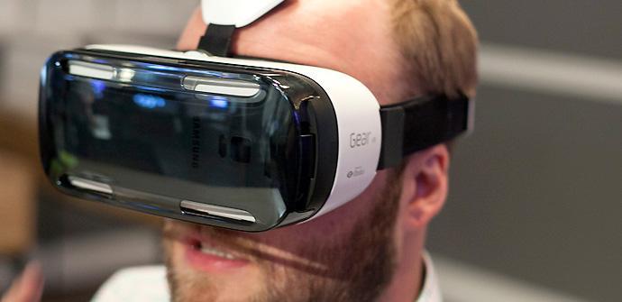 Gear VR de Samsung.
