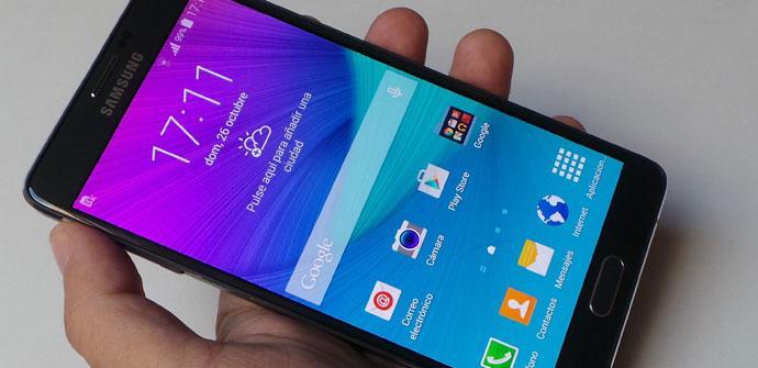 Samsung Galaxy Note 4 actualizacion