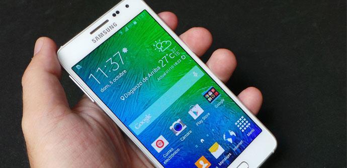 Apertura Samsung Galaxy Alpha