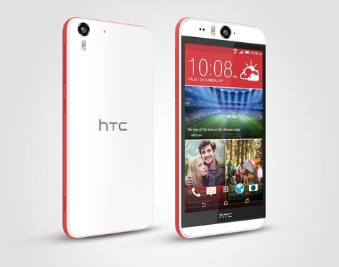 HTC Desire Eye con HTC Sense