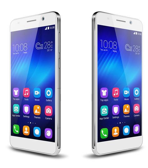 Acabado blanco del Huawei Honor 6