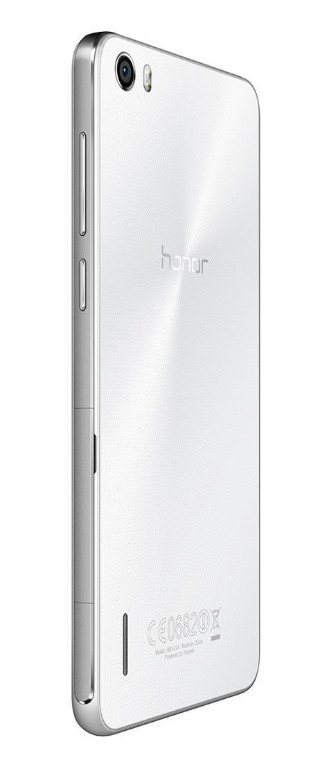 Huawei Honor 6 blanco vista trasera
