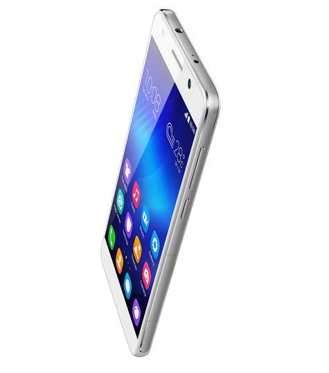 Huawei Honor 6 blanco vista lateral