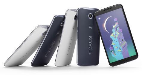 Nexus 6 varios modelos y colores