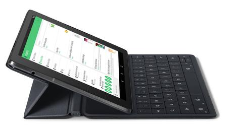 Nexus 9 con teclado
