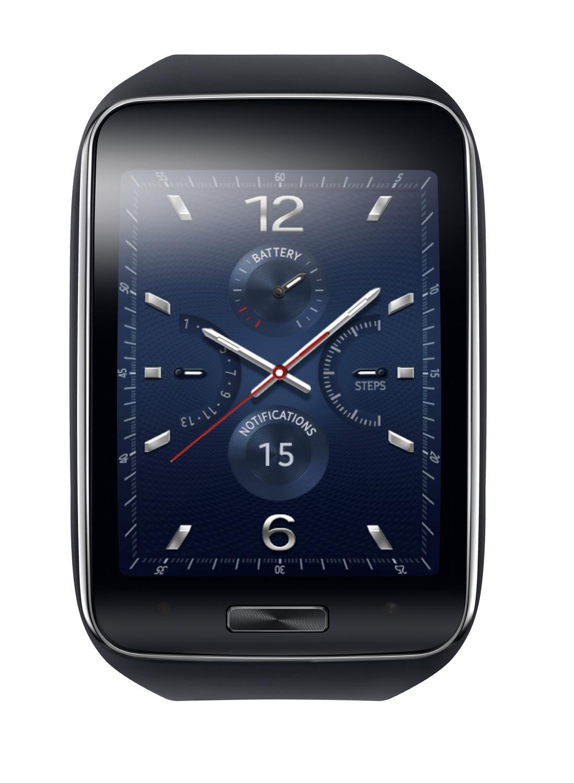 Samsung Gear S con esfera en color azul