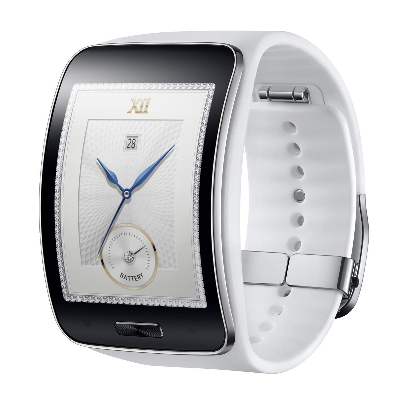 Samsung Gear S en color blanco