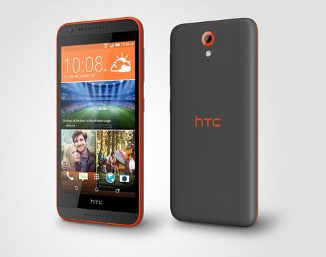 HTC Desire 620 en color rojo