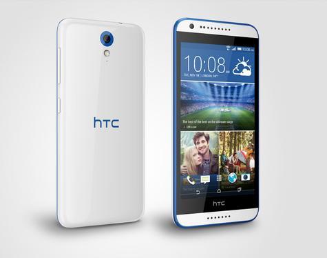 HTC Desire 620 en color Azul