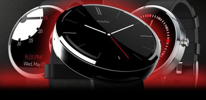 Moto 360 en color negro