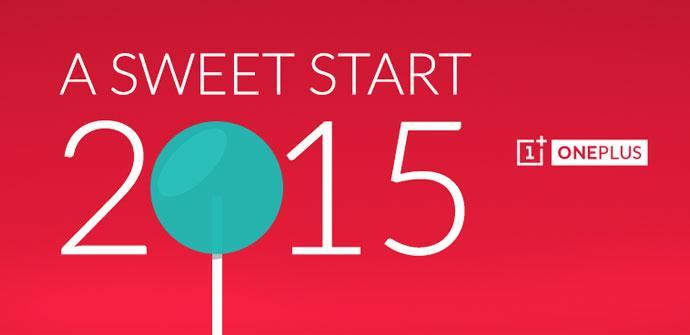 OnePlus nos desea un Feliz Año Nuevo.