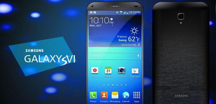 Concepto del Samsung Galaxy S6