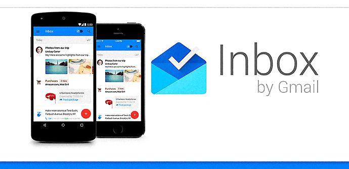 Inbox by Gmail, de Google.