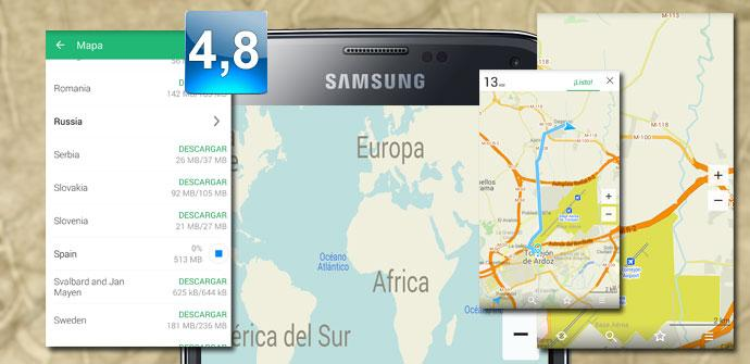 Imagende apertura de MAPS.ME